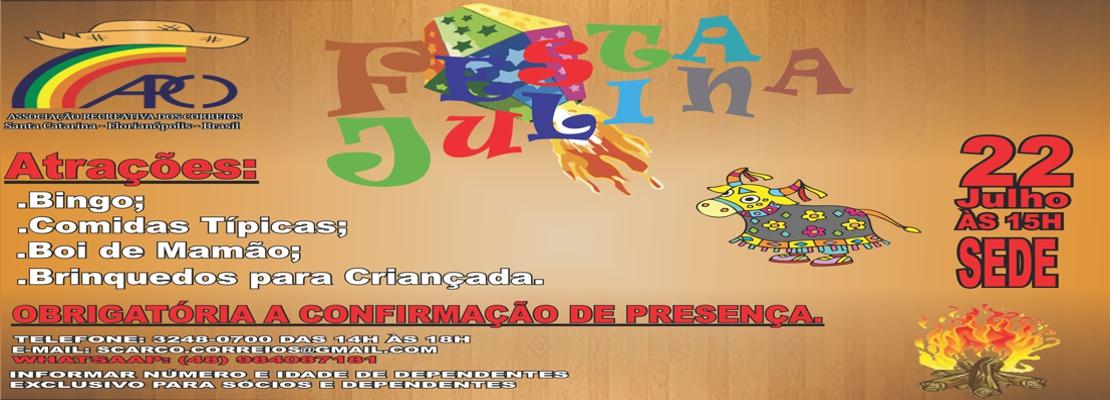 Banner - festa julina
